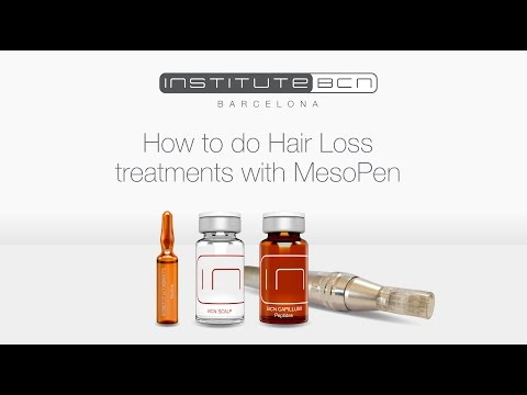 Hair loss treatment with Mesotherapy | Mesoceuticals® | InstituteBCN