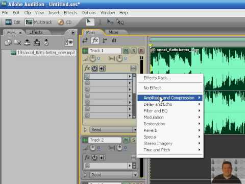 Creating Karaoke Tracks Using Adobe Audition 3.0