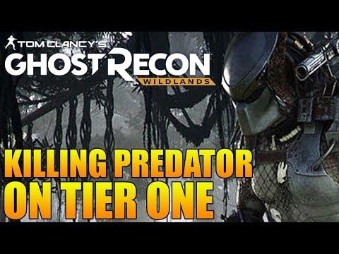 "KILLING THE PREDATOR IN TIER ONE MODE! | Ghost Recon Wildlands ""The Hunt"" Predator Challenge"