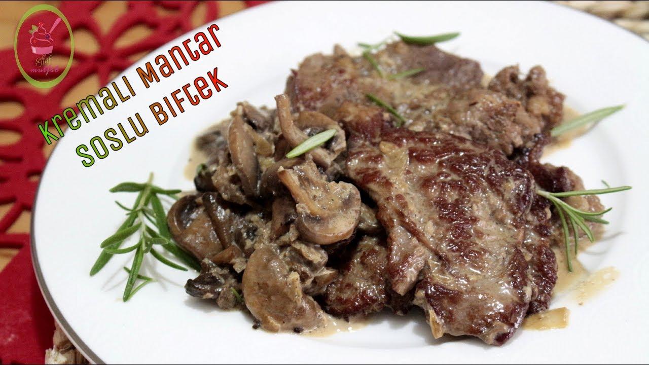 Mantarlı Biftek