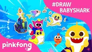Draw Baby Shark Event | #DrawBabyShark | Baby Shark Challenge | Pinkfong Shows for Children