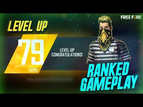 LEVEL UP- 79 || RANKED FULL GAMEPLAY || FREE FIRE BATTLEGROUND