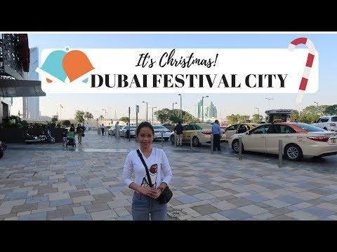Dubai Festival City l Dubai Magical Festive Market l Rizzy Dec