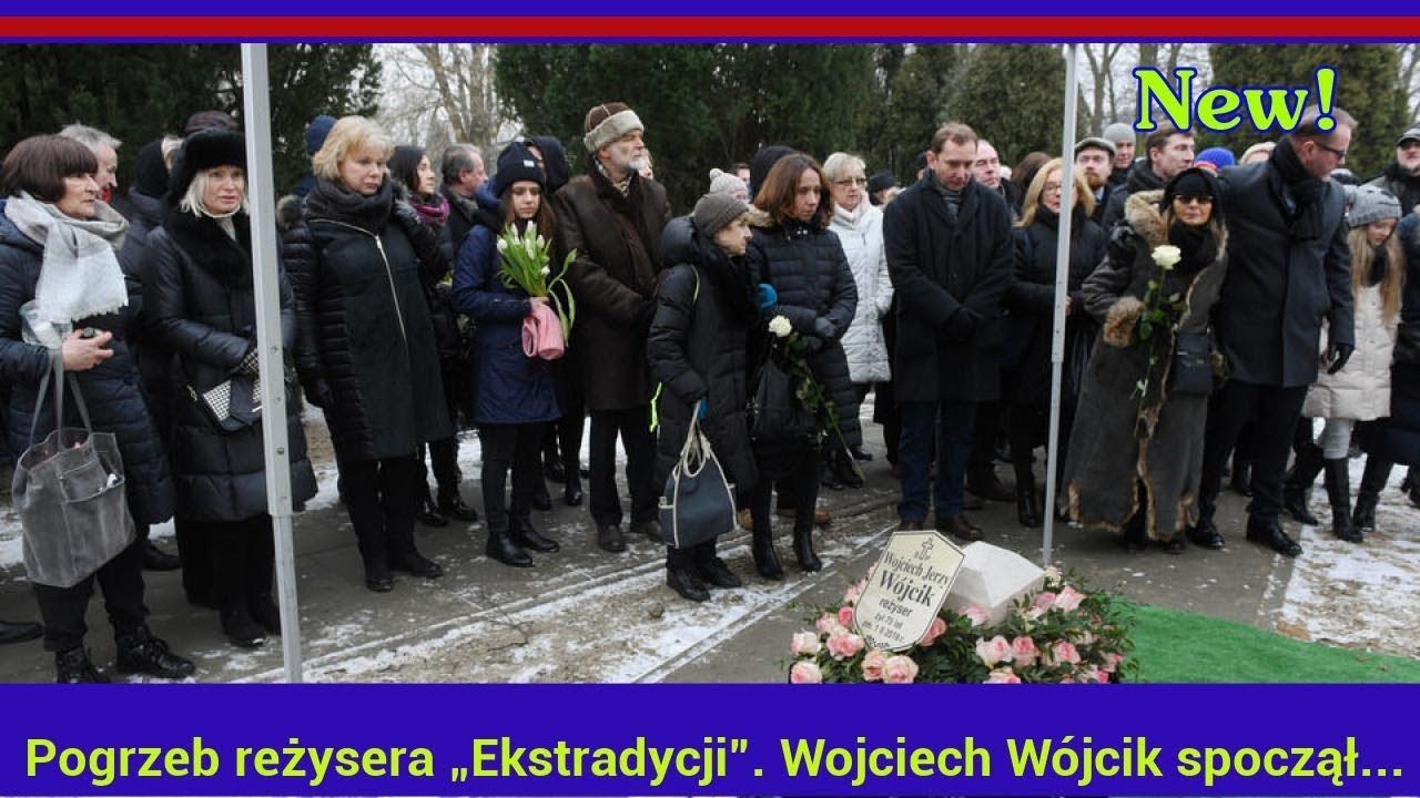 """Pogrzeb reżysera """"Ekstradycji"""". Wojciech Wójcik spoczął na Powązkach"""
