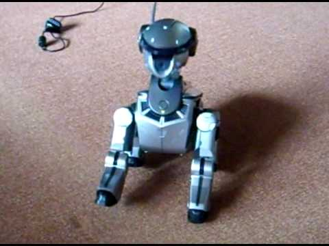 Aibo ERS-220 dance with song