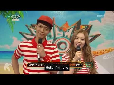 IRENE AND PARK BO GUM SINGING WAY BACK HOME - SHAUN (CONOR MAYNARD)