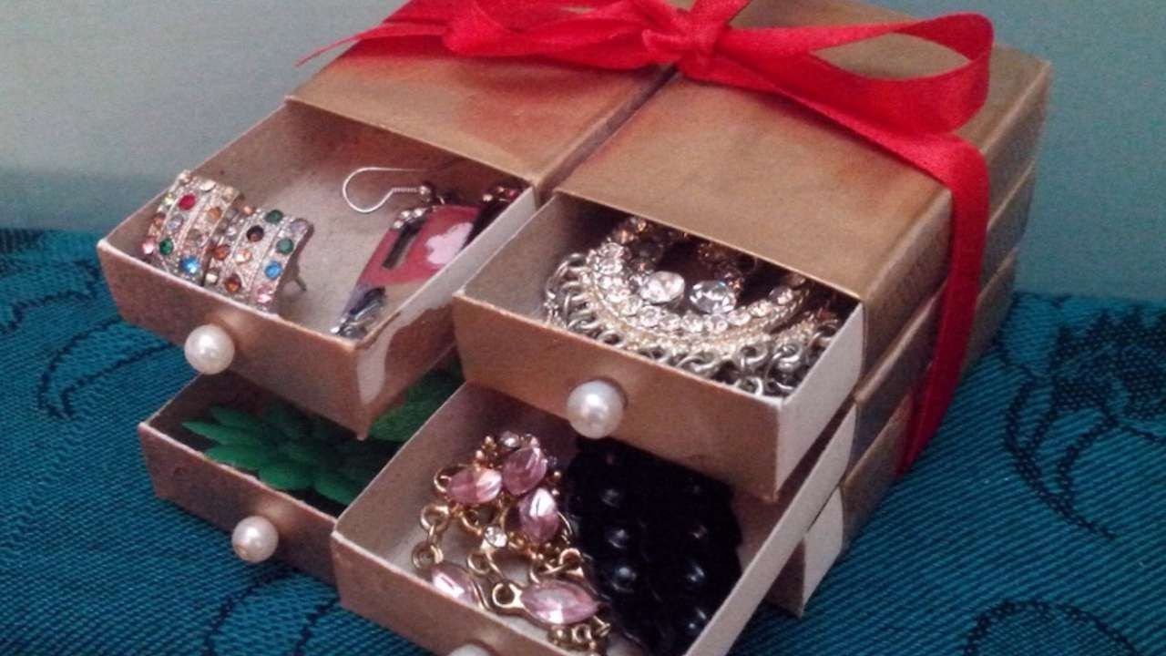 Mini Cassettiera Fai Da Te crea una cassettiera con le scatole dei fiammiferi - fai da te creazioni -  guidecentral