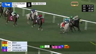 Vidéo de la course PMU ALLOWANCE OPTIONAL CLAIMING 1500M