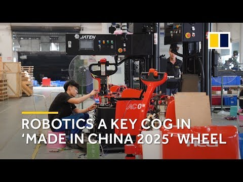 Robotics a key cog in 'Made in China...
