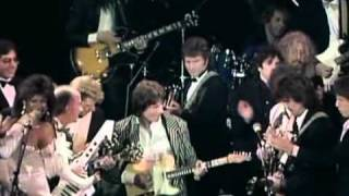 1988 Rock and Roll Hall of Fame Harrison Ringo Jagger Springsteen Joel  I saw her Standing there