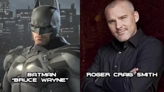 Characters and Voice Actors - Batman: Arkham Origins 2016