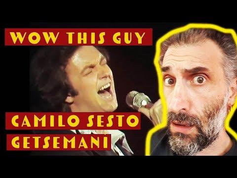 Camilo Sesto - Getsemaní (live 1977) First Time Ever Reaction