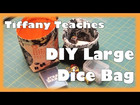 photograph regarding Dice Bag Printable Pattern referred to as Tiffany Teaches: Do it yourself Massive Reversible Cube Bag - YouTube