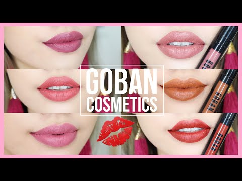 swatch-&-review-goban-melted-matte-lip