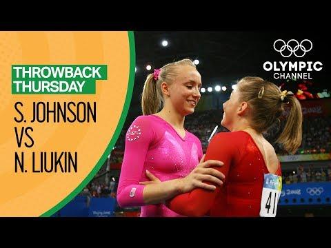 Nastia Liukin vs. Shawn Johnson All Around Final | Throwback Thursday