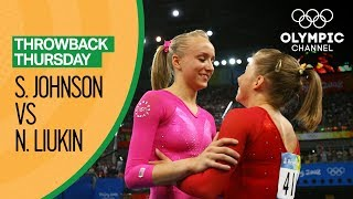 Nastia Liukin vs. Shawn Johnson - Beijing 2008 - All Around Final | Throwback Thursday