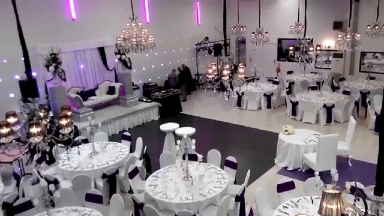 Decoration Salle Mariage Noir Et Blanc : L alhambra salle de réception mariage soirée blanc
