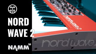 Clavia Nord NAMM 2020 | Nord Wave 2 Synthesizer | Thomann