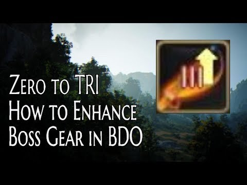 Enhancing Boss Gear From 0 to TRI: The Complete Guide