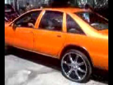 Orange Caprice on 24's