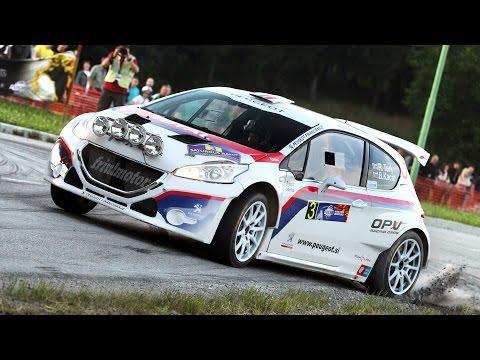 Rok Turk - Blanka Kacin (Peugeot 208 T16) : Saturnus rally Velenje 2015 - SS 1 Jezero