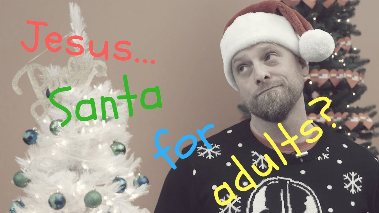 JESUS: SANTA FOR ADULTS? (TIM STRATTON) Christianity in Memes - YouTube