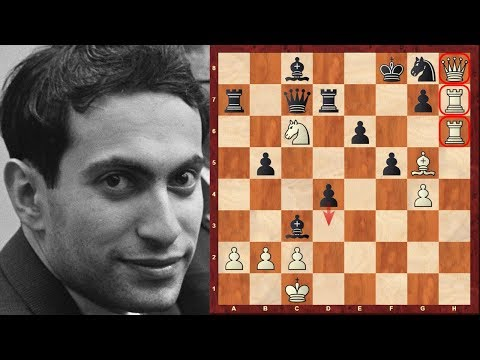 Mega-complex Chess Game: Mikhail Tal's most outrageous game vs Alexander Koblents : 1957