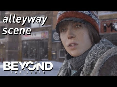 BEYOND: Two Souls - Alleyway Scene - Accept Offer (Chapter: Homeless) [HD]