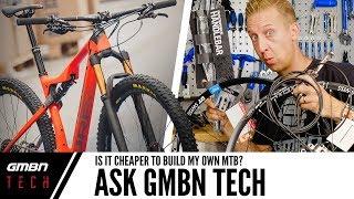 هو أرخص لبناء الخاصة بك الدراجة الجبلية ؟   نسأل GMBN التكنولوجيا