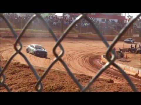 03-04-17 Cherokee Speedway Turn-1 #11 Honda Civic