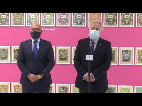 """O presidente do Parlamento visita a exposición de """"Nós a nós"""""""