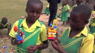 Boy Creates Organization To Bring Ugandan Children Lego Blocks