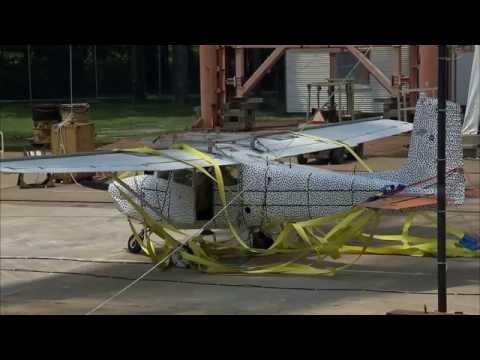 Crash Test Assesses Plane Emergency Locator Transmitters