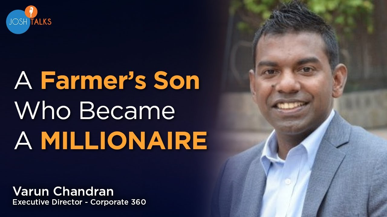 How a Farmer's Son & Dropout Became a Millionaire? | Varun Chandran | Motivational Story