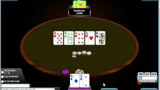Water Boat Poker Video: Using Avatar Tells And Making Deals Hu #32
