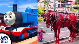 Kompilasi Lagu Anak Naik Kereta Api Tut Tut Tut   Naik Delman Istimewa   Kereta Api Thomas & Friends