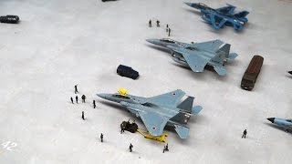 1/144 Aviation Diorama(Military)/1/144軍用機ジオラマ