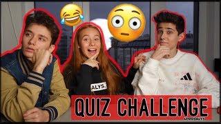 Quiz-Challenge mit Arian & Keanu😳😱| LEOOBALYS