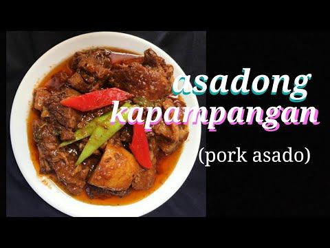 How To Cook Pork Asado ( Kapampangan Style) #asadongmatwa
