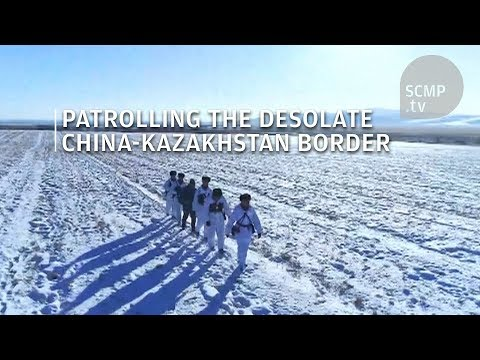 PLA troops conduct first patrol on China-Kazakhstan border