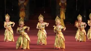 """Tari Kreasi """"Bunga Sandat Serasi"""" (PKB2016, Gong Kebyar Anak, Tabanan)"""