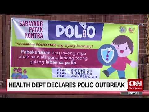 Health Department declares Polio Outbreak