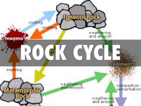 Rock Cycle And Types Explained Physical Geography