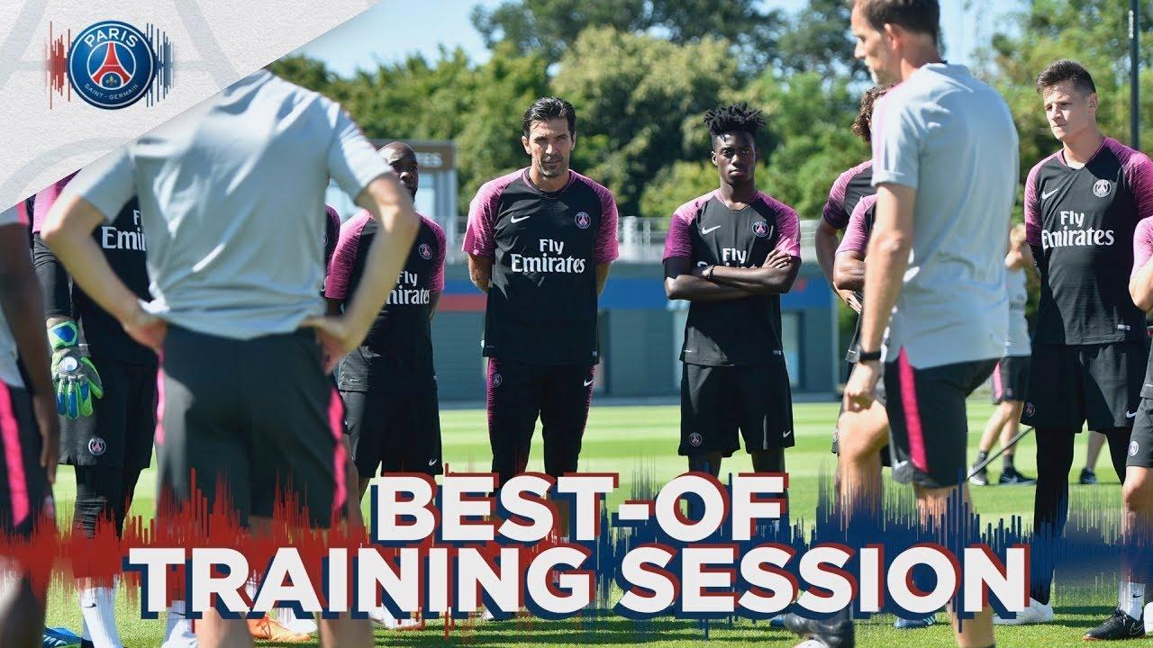 BEST-OF TRAINING SESSION - ENTRAINEMENTS DE LA SEMAINE with Gigi Buffon, Marco Verratti