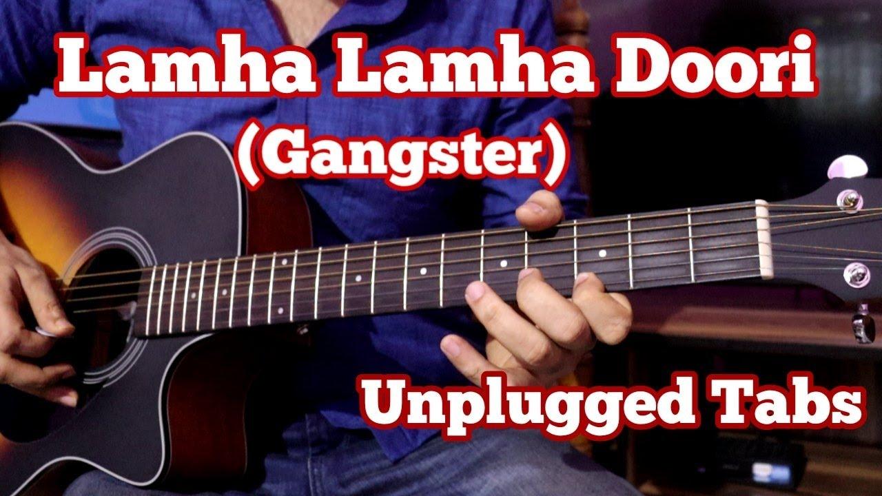 Lamha Lamha Doori(Gangster) - Easy Guitar Tabs | Kangna Ranaut, Emraan Hashmi | Free Backing Track