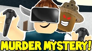 Roblox | MURDER MYSTERY | VIRTUAL REALITY MURDERER!!