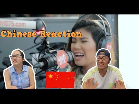 Chinese React to Katrina Velarde nails
