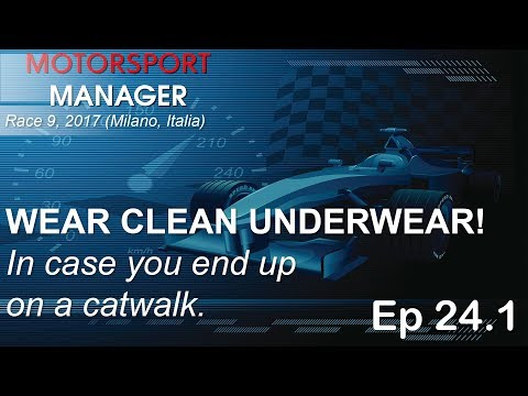 Motorsport Manager 2017 Race 9 Milano Italia (Ep 24 Part 1)