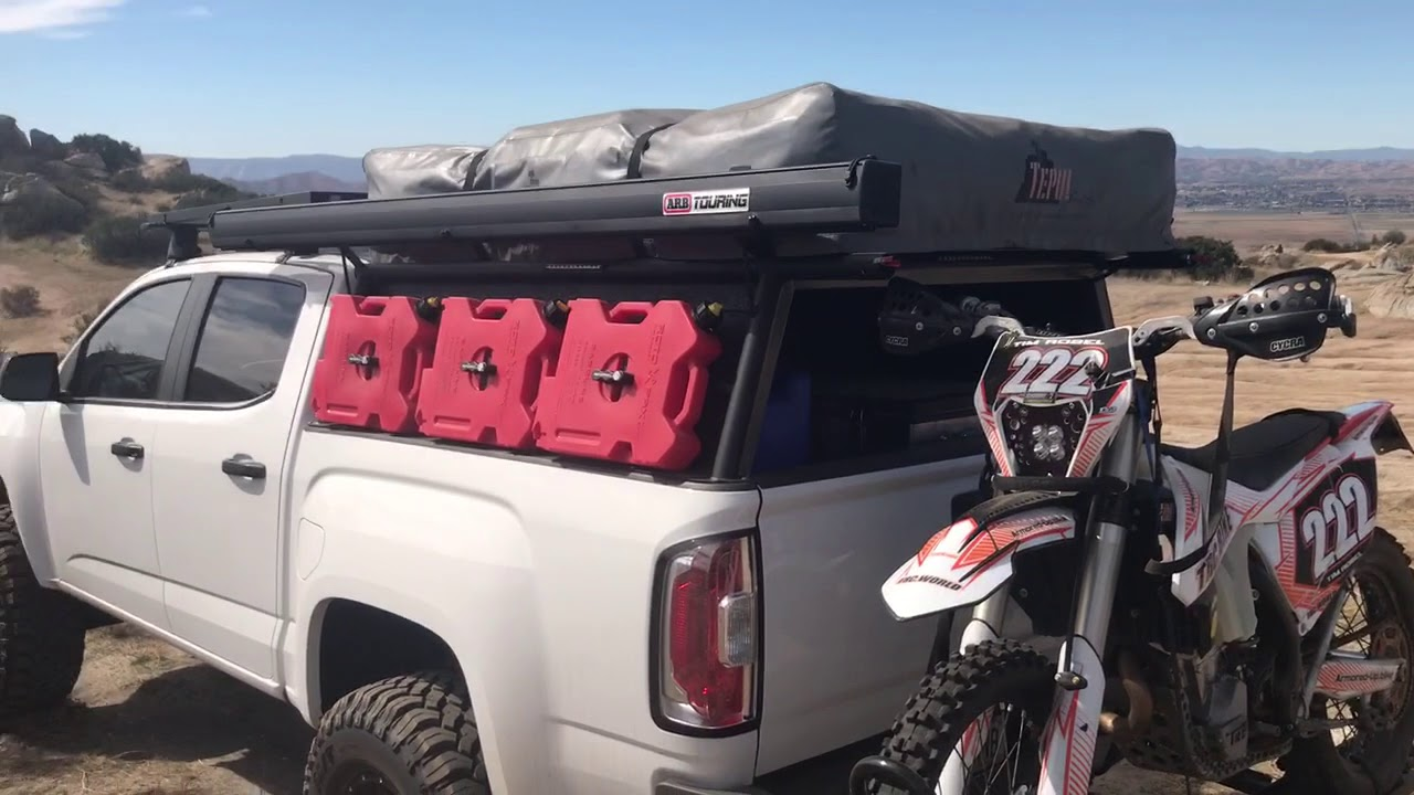 GMC Canyon Overland Rig Review Part 1 - YouTube