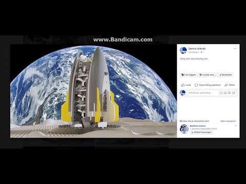 Electric Drone Rocket Design 01